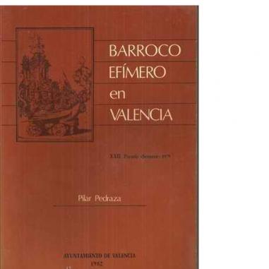 Barroco efímero en Valencia