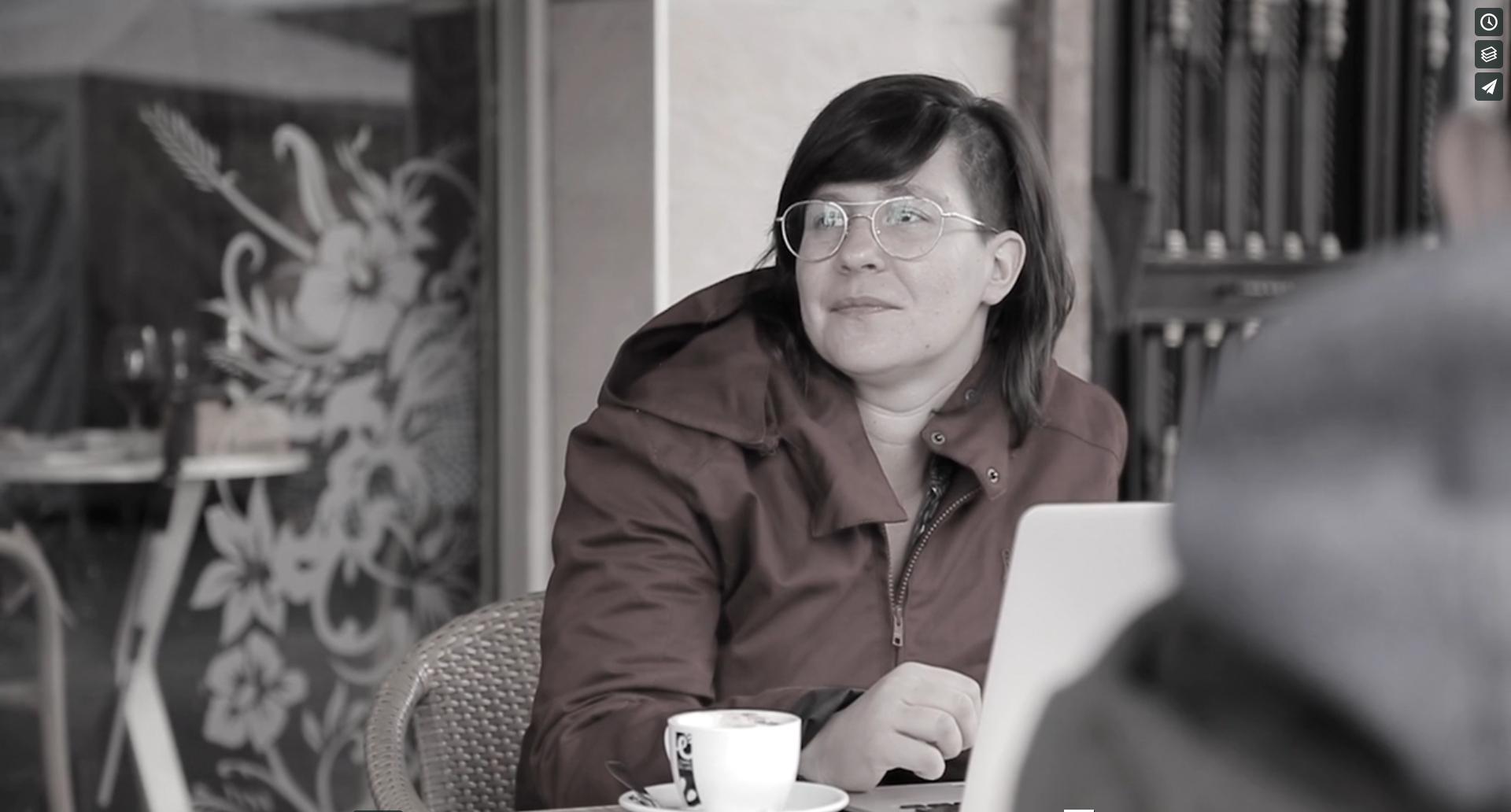 escriure teatre hui? Espais de treball #8, Guadalupe Sáez